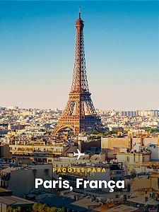 Pacote para Paris - 4 dias + Passagem Aérea