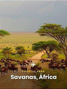 Pacote para África - 4 dias + Passagem Aérea -