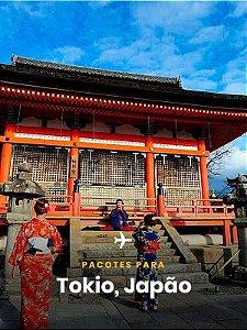 Pacote para o Japão - 4 dias + Passagem Aérea