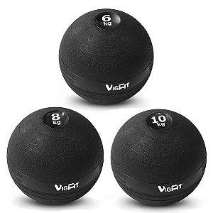 Kit Slam Ball 6Kg 8Kg e 10Kg