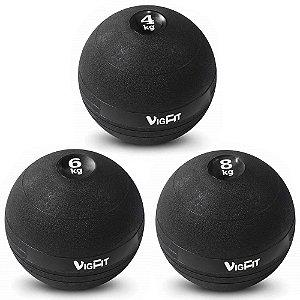Kit Slam Ball 4Kg 6Kg e 8Kg