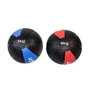 Kit Medicine Ball 3Kg e 4Kg