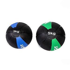 Kit Medicine Ball 3Kg e 5Kg