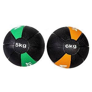 Kit Medicine Ball 5Kg e 6Kg