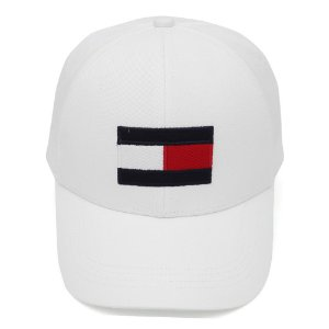 Boné Tommy Hilfiger Logo Branco