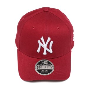 Boné New Era 3930 New York Yankees Vermelho