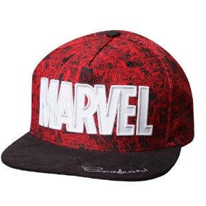 Boné Bordado Marvel Excelsior Incolor