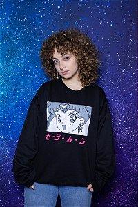 Moletom Sailor Moon #1 (preto)