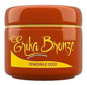Erika Bronze Acelerador de Bronzeado Cenoura e Coco