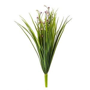 Buquê De Capim Com Flores