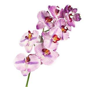 Galho de Orquídea Phalaenopsis De Silicone