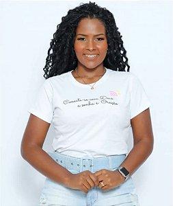T Shirt Conecte-se com Deus