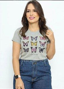 T Shirt borboleta free
