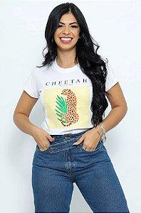 T Shirt Onça Cheetah