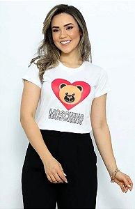 T Shirt Urso Moschino