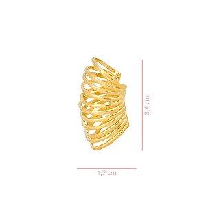 Piercing Fake Filetes - Banhado a Ouro