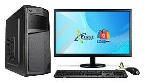 Pc Cpu Nova Intel Core I5 8gb Hd 250gb + Mon19 + Kit