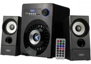 Caixa De Som Knup Bluetooth/usb 2.0/sd/radio Kp-6022bh