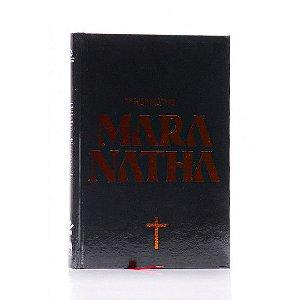 Bíblia Maranatha | NAA | Letra Normal | Capa Dura | Preta