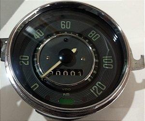 Velocímetro Vw Fusca 1200 - Verde - 120km - Original