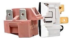 Rele Ptc E Protetor Térmico Serve Em Todos Freezer 110v 220v