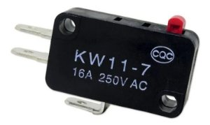 Kit Com 500 Micro Chave 3 Terminais