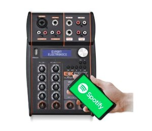 Mixer Automotivo Expert Mx-player Bluetooth Usb Equalizador