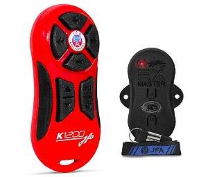 Controle longa Distancia JFA K1200 Vermelho