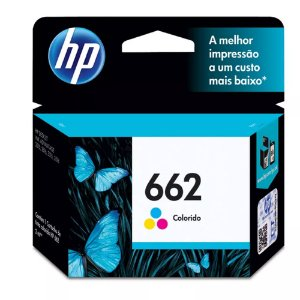 Cartucho de Tinta HP 662 CZ104AB Color
