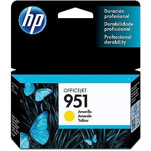 Cartucho HP 951 Amarelo Original (CN052AB) Para HP Officejet Pro 8600