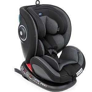 Cadeira Para Auto Isofix Dispositivo De Retenção Para Bebê Criança Desde O Nascimento Até 36kg Seat4Fix Chicco Ombra