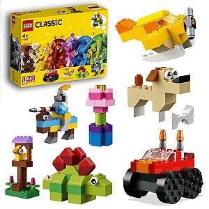 Lego Classic Conjunto de Peças e Ideias Básico Divertidos Blocos Infantil 300pcs +4 anos