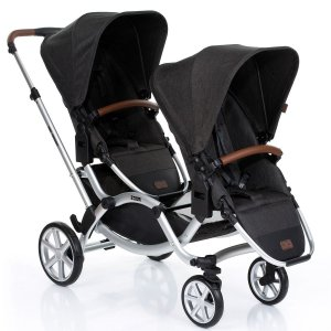 Carrinho Bebê Travel System Reclinável Duplo 3 Em 1 Zoom Piano ABC Design