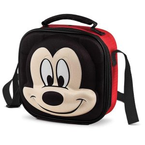 Lancheira Infantil Escolar 3D Alto Relevo Disney Baby Lillo Mickey