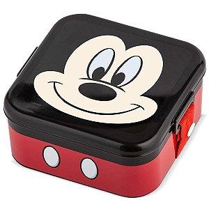 Lancheira Pote com Trava Disney Baby Lillo Mickey