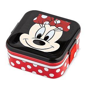 Lancheira Pote com Trava Disney Baby Lillo Minnie