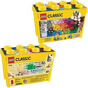 Lego Classic Caixa Grande de Peças Criativas com 790 peças Blocos de Montar Infantil