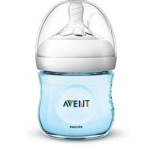 Mamadeira Bebê Anticolica Bico Ultra Suave Flexivel 0m+ Tam 1 Pétala Philips Avent Azul