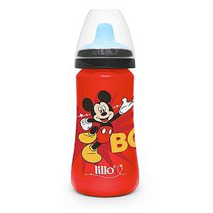 Copo de Transição Para Bebê Criança Disney Mickey 300ml Infantil Antivazamento Lillo