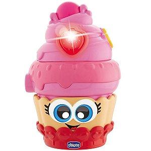 Brinquedo Infantil Bebê Musical Bolinho Doce Gira 6 A 36 Meses Candy Doceira Chicco