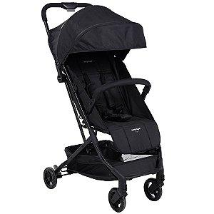 Carrinho de Bebê Compacto Yupi Até 15Kg Passeio Preto - Voyage