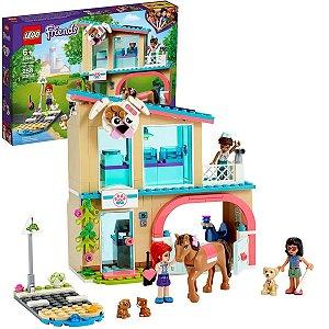 LEGO Friends Clínica Veterinária de Heartlake City com 258pçs +6 Anos