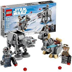 Brinquedo Lego Star Wars Criança Com 205 Peças +6 Anos Series 8 AT-AT vs Tauntaun Microfighters Disney