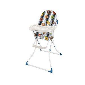 Cadeira Alta De Alimentação Navy Azul Weego