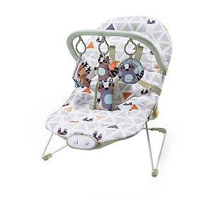 Cadeira de Descanso Musical Reclinavel até 15 Kg Weego Menino - Multikids Baby
