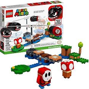 Brinquedo LEGO Infantil Criança Mario Bross Bombardeio de Bill Balaços Expansão Idade Recomenda + 3 Anos LEGO