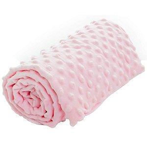 Manta Para Bebê Rosa 75x100cm - Infanti