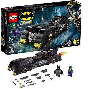 Brinquedo Lego Batman Com Batmovel Contra O Coringa +7 Anos 342 Peças