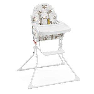 Cadeira Alta De Bebe Para Alimentação Refeição Real Standard II Até 15 Kg Galzerano