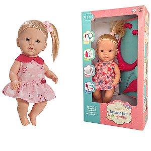 Boneca Infantil Crianças A partir dos 3 Anos Com Acessórios Dodoi Quero ser Mamãe Pupee